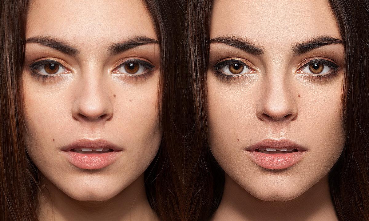 Как сделать фото с ретушью
