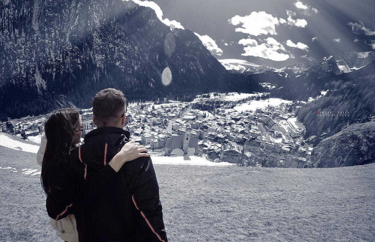 Доломитовые Альпы, Италия, Campitello di fassa - Sergey Tyulev
