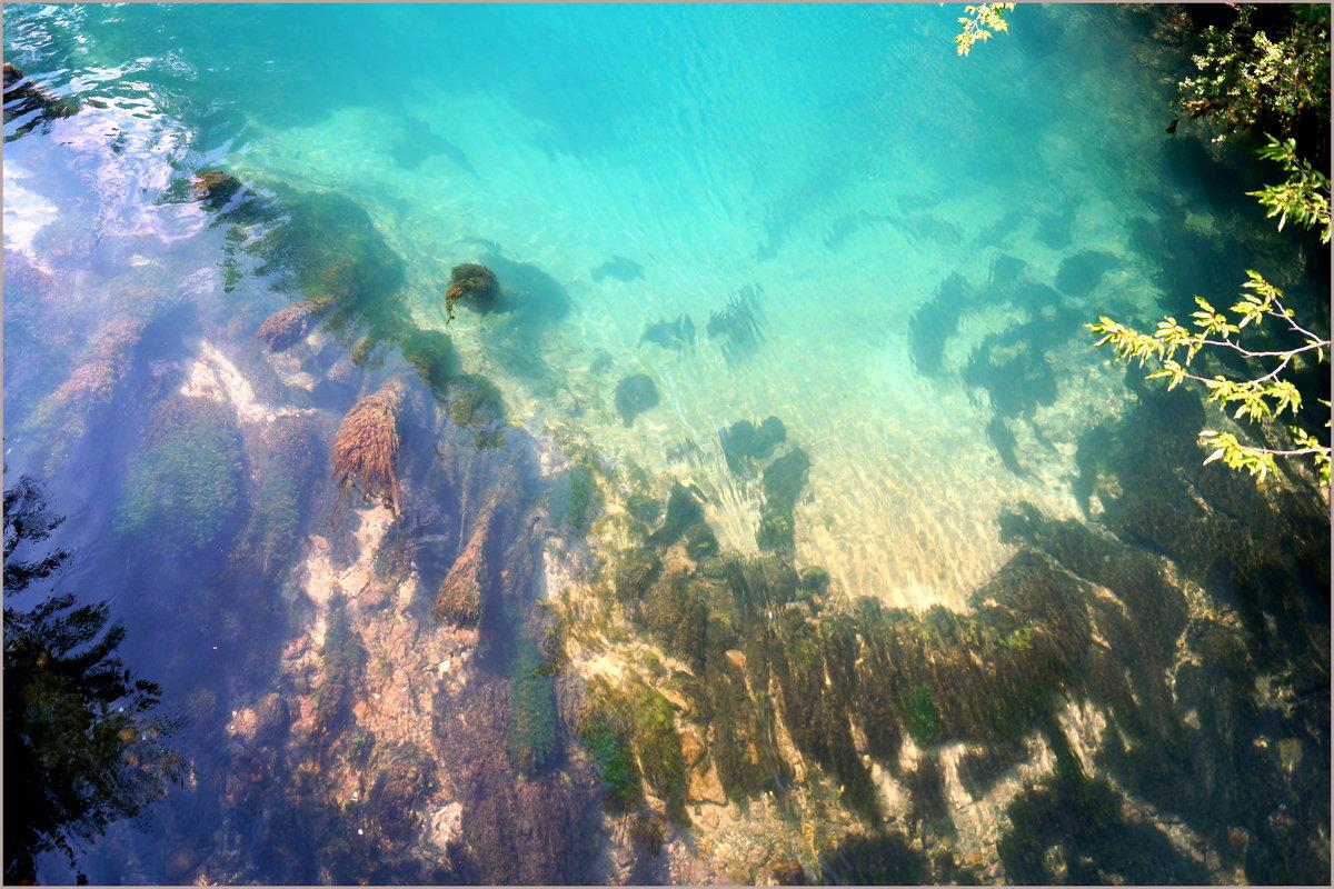 Абхазия...Голубое озеро... - Наталья Агеева