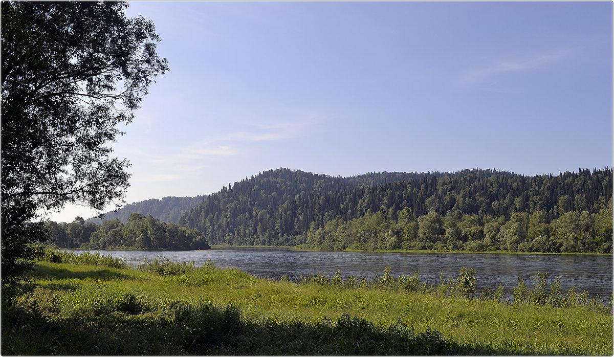 река Томь - Дмитрий (White Starik) Фотолюбитель