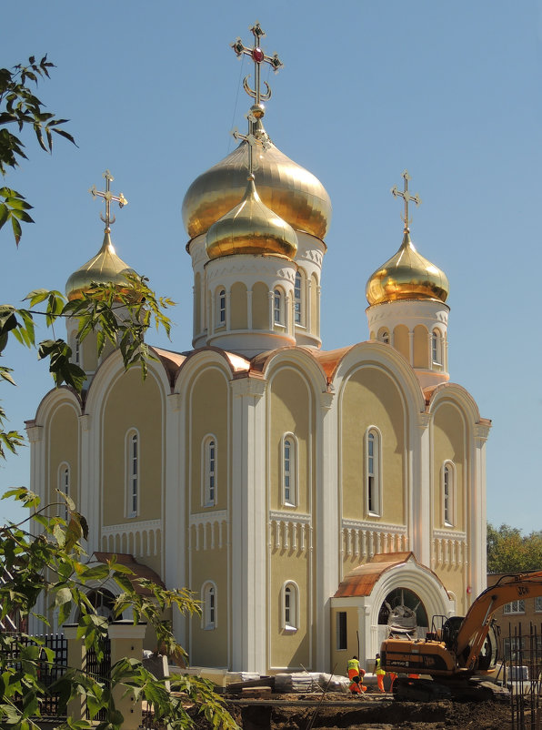 Церковь Спиридона Тримифунтского в Нагатинском Затоне - Александр Качалин
