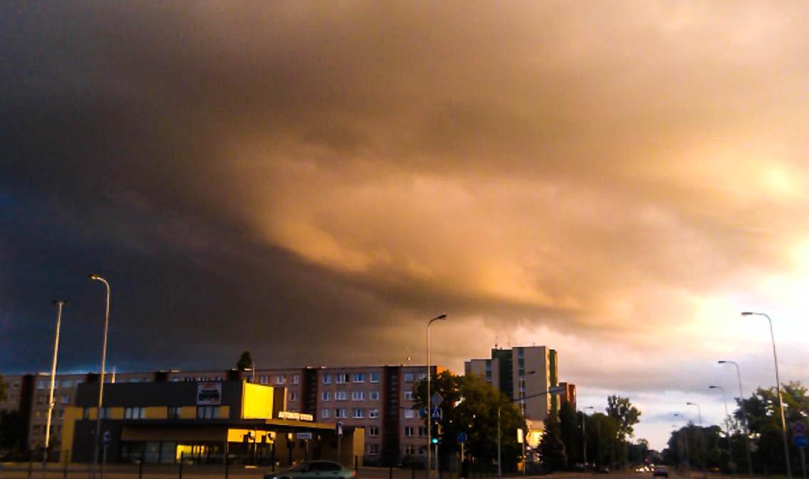 Небо над Укмерге (Литва) - Ирина A