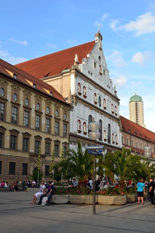 Прогулки по Мюнхену - Ольга