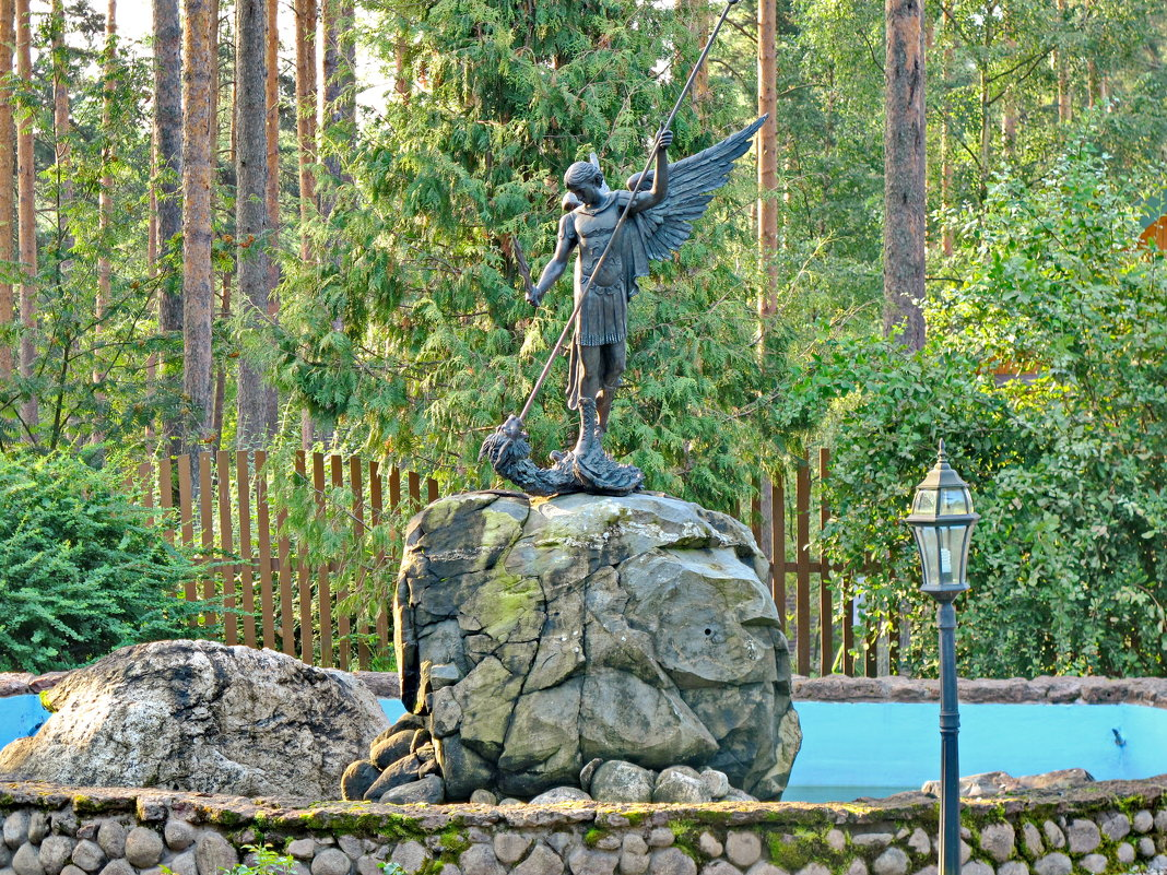 По дороге к Валааму - подворье Коневского монастыря - Олег Попков