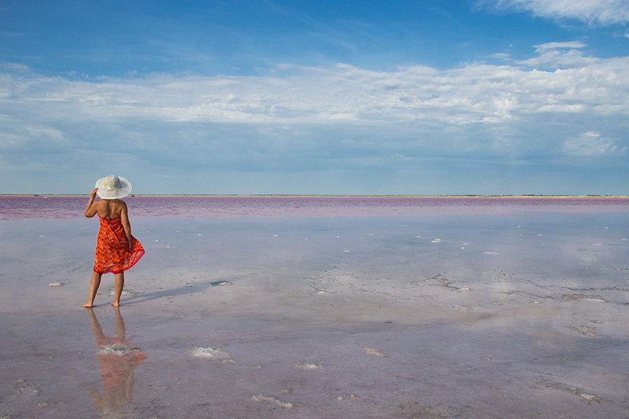 На берегу розового озера - Viktoriya Balaganskaya