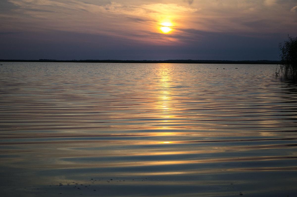 Закат на озере - Вера Кочергина