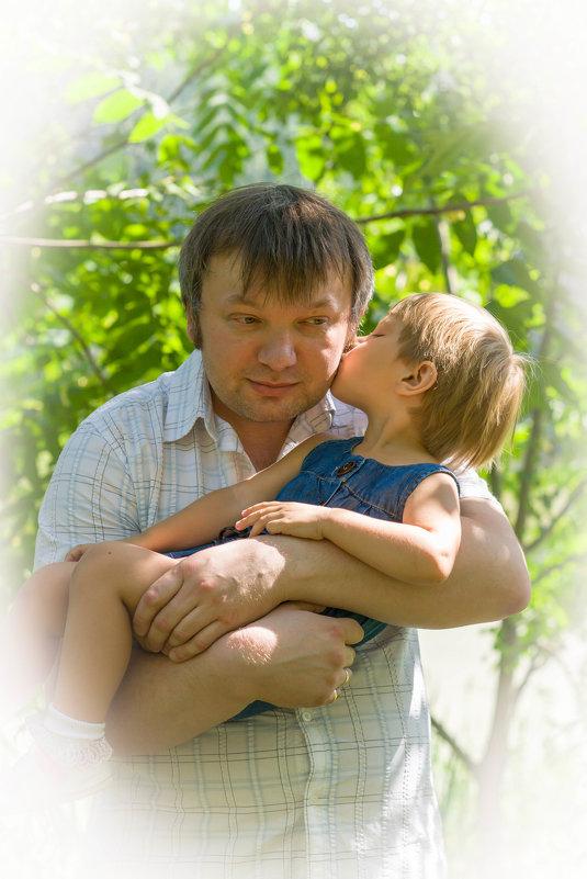 С папой - Аня Ушакова