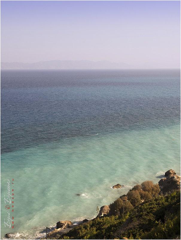 Краски Эгейского моря - Борис Борисенко