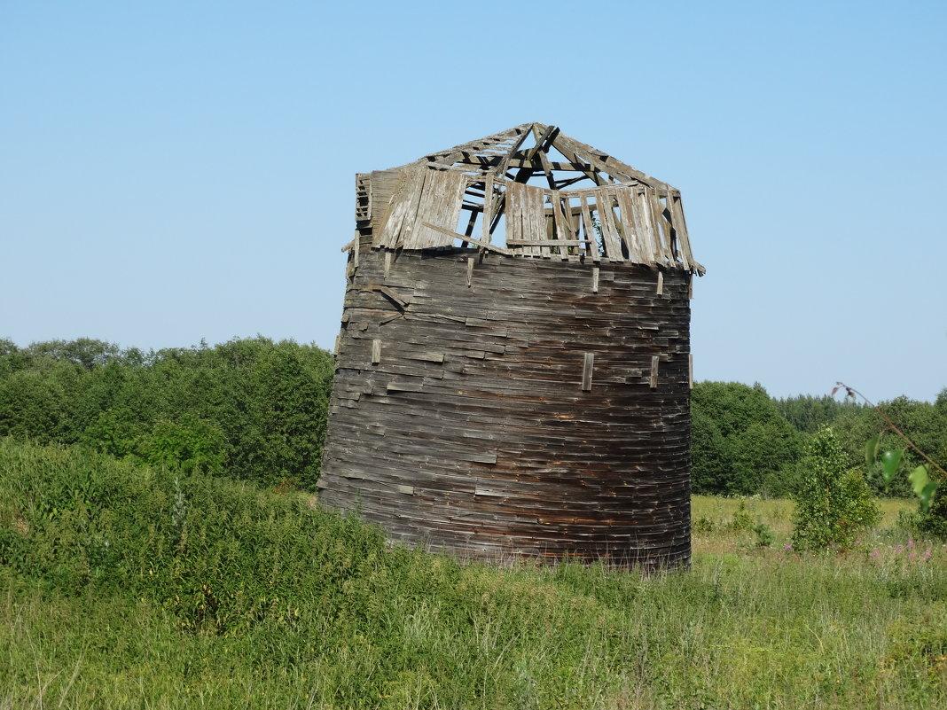 Старинный амбар из дранки - Светлана Лысенко