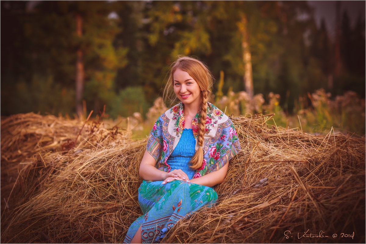 Девушка на сене - Сергей Винтовкин