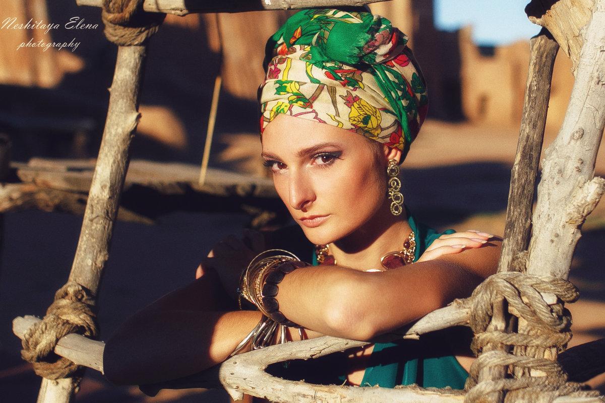 Восточная красавица - Елена Нешитая