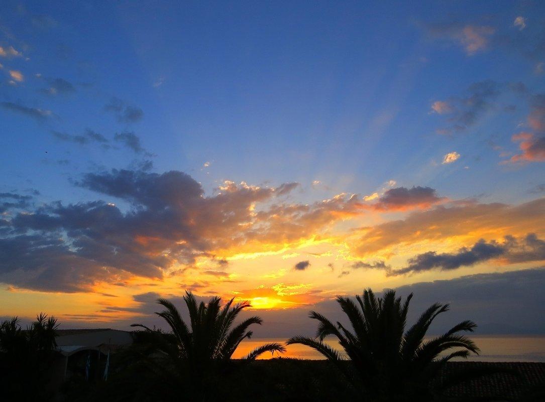 Рассвет в Керкире - Татьяна