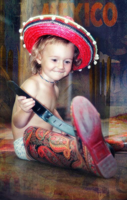 Еще чуть-чуть и Дашка станет полноценным участником марьячи - Anna Lipatova