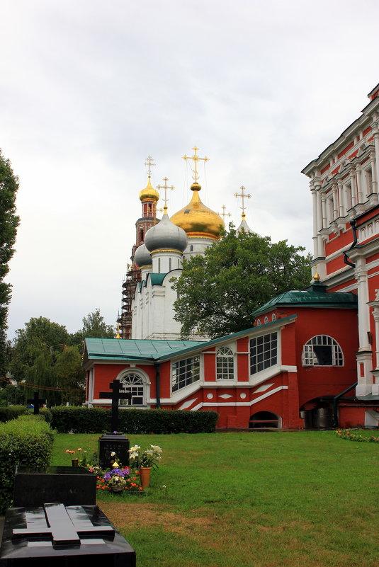 Смоленский собор Новодевичьего монастыря. - Иван