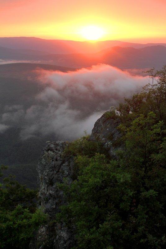 Закат в горах - Сергей Карачин