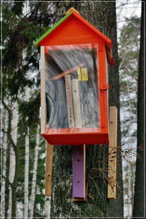 Мини-библиотека в парке - muh5257