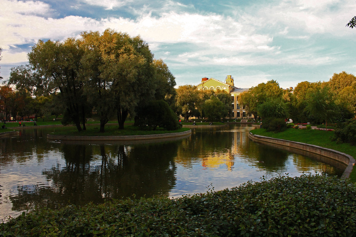 Юсуповский сад.(2) - Александр Лейкум