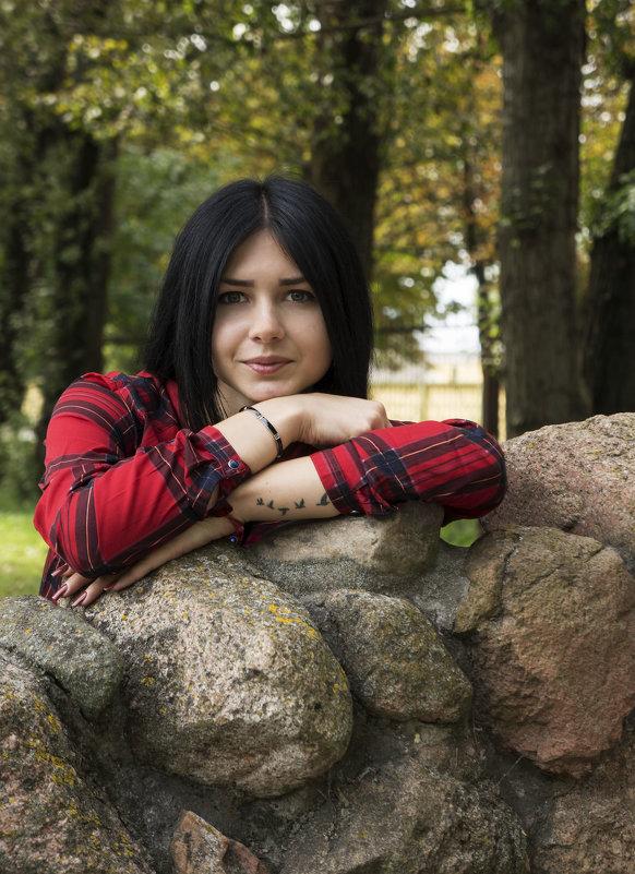 На прогулке в парке - Ольга Соловарова