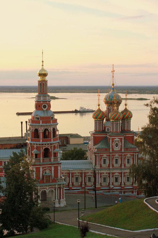 Строгановская церковь - марина