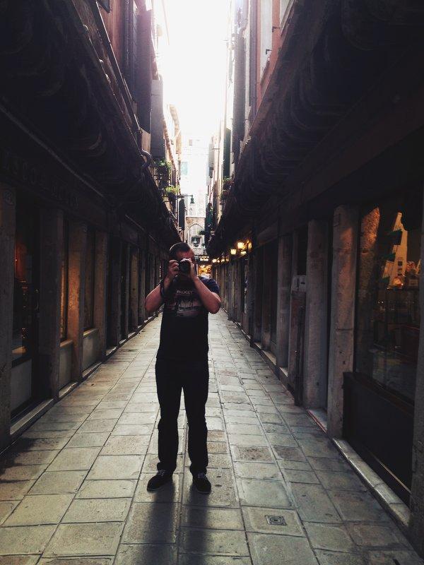 По узким улочкам Венеции - Alistina