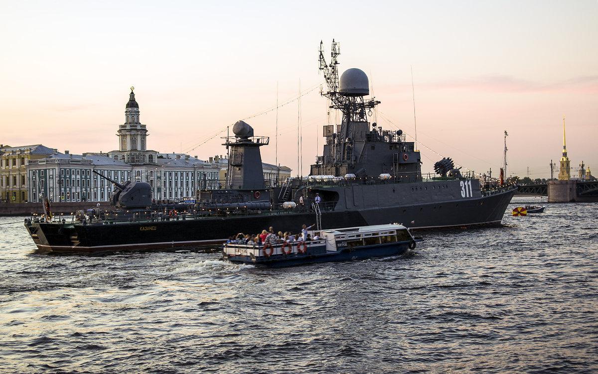 Корабль ВМФ - Valerii Ivanov