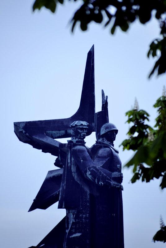 Мемориал «Твоим освободителям Донбасс» - Анастасия Шилова