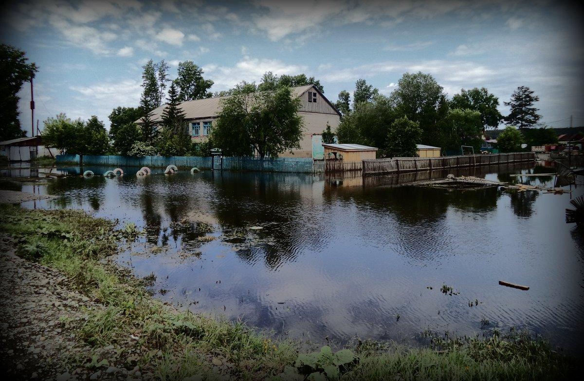 После наводнения - Лариса Карпушина