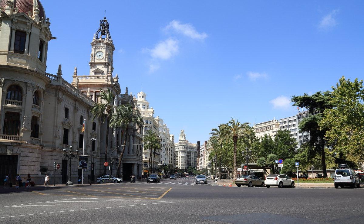 На улицах Валенсии - Сергей