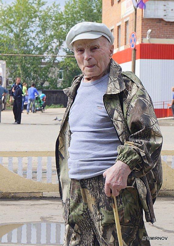 Строгий  дед ! - A. SMIRNOV