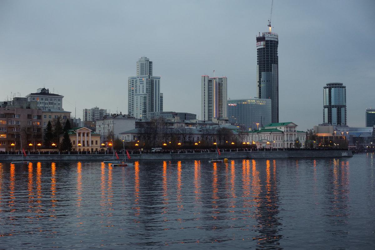 вечерний Екатеринбург - Дмитрий Часовитин