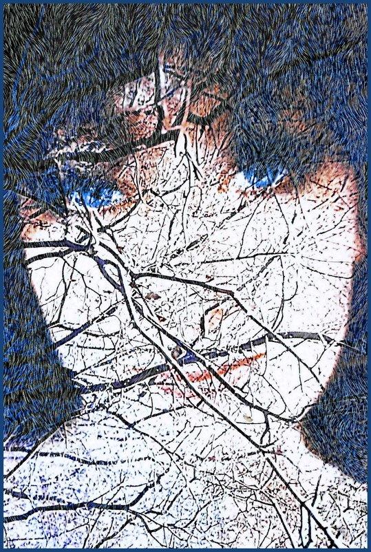 зима через стекло картинки