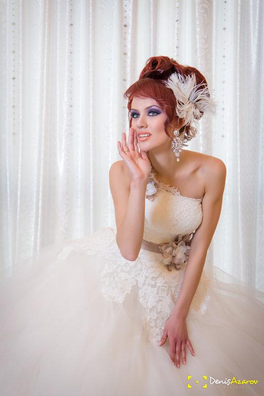 свадебные прически татьяны азаровой