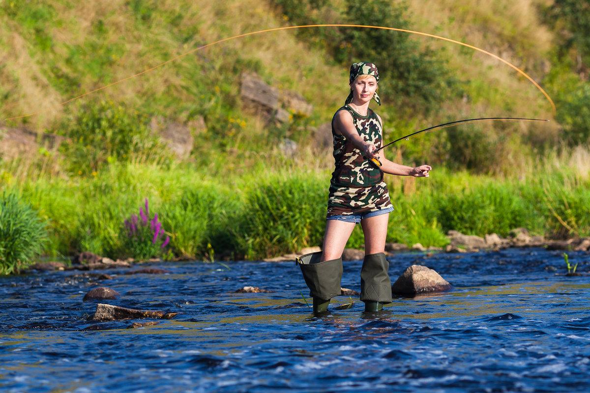 женщины в чем вы ходите на рыбалку