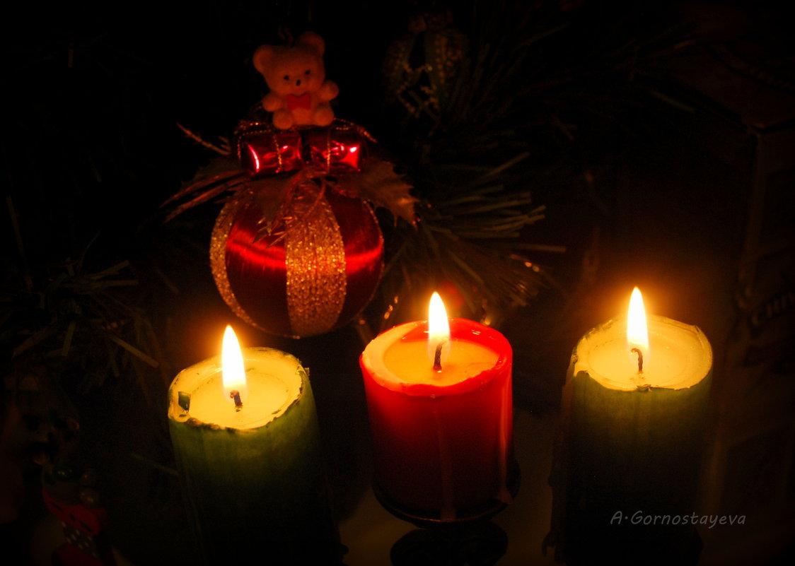 Ждем опять чего-то в Старый Новый год... - Anna Gornostayeva