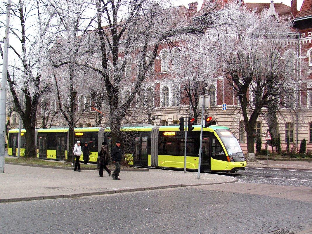 Львовский трамвайчик - super-krokus.tur ( Наталья )