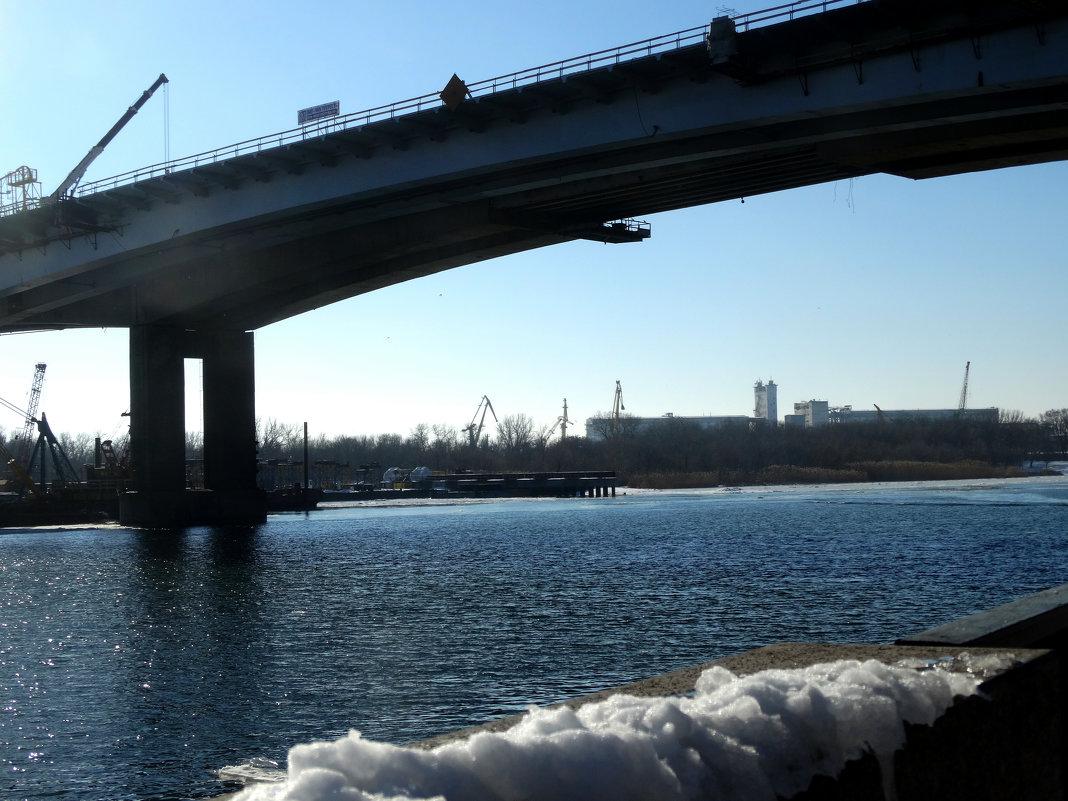 Зимний пейзаж с мостом... - Тамара (st.tamara)