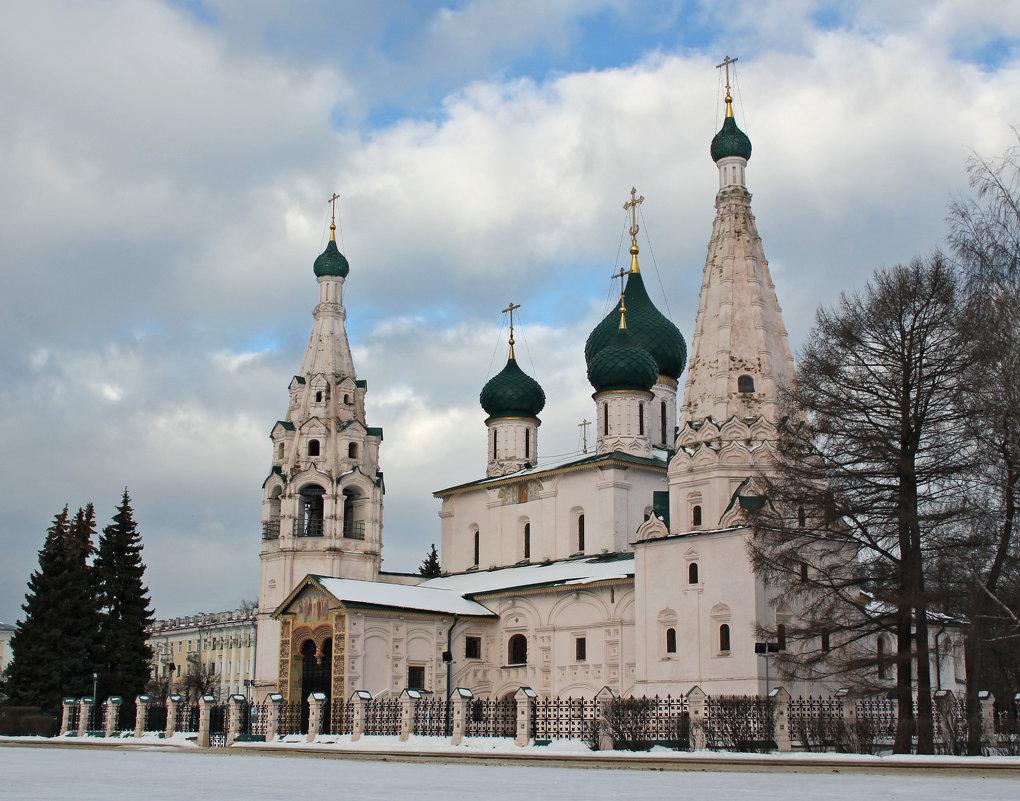 Церковь Ильи Пророка - Вячеслав Крутецкий