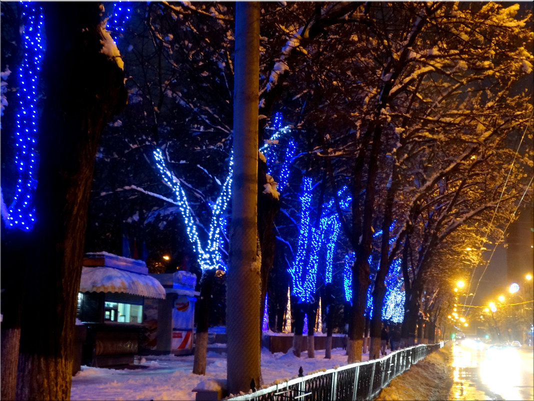 Вечерние огни в зимнем городе... - Тамара (st.tamara)
