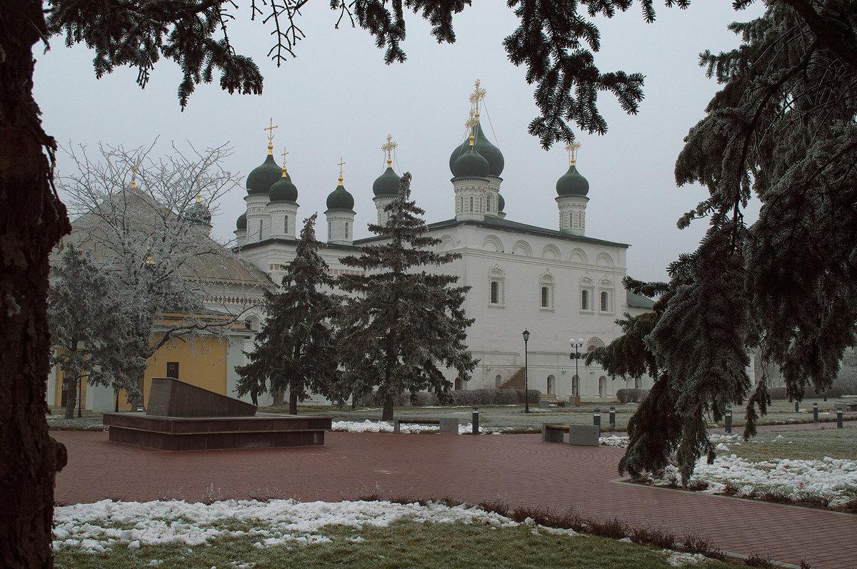 Из серии Зимние виды Астраханского кремля - Алена Рыжова