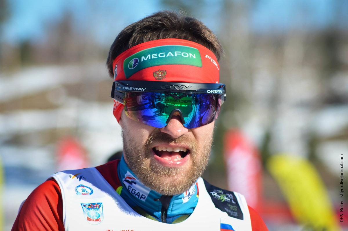 Лыжный марафон Демино - Денис Белов