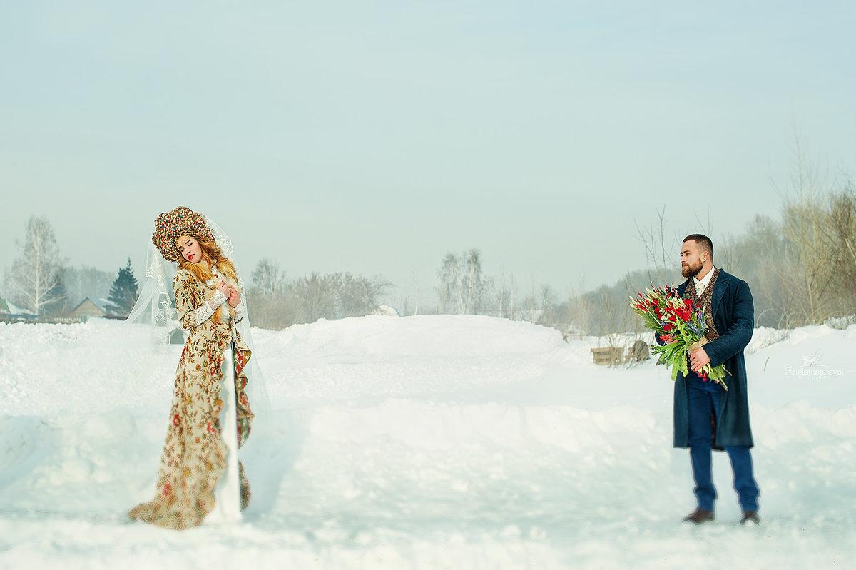 Свадьба в русском народном стиле с фотографиями
