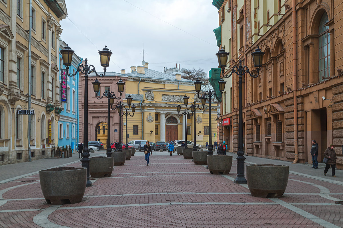 Санкт-Петербург, Малая Садовая улица. - Александр Дроздов