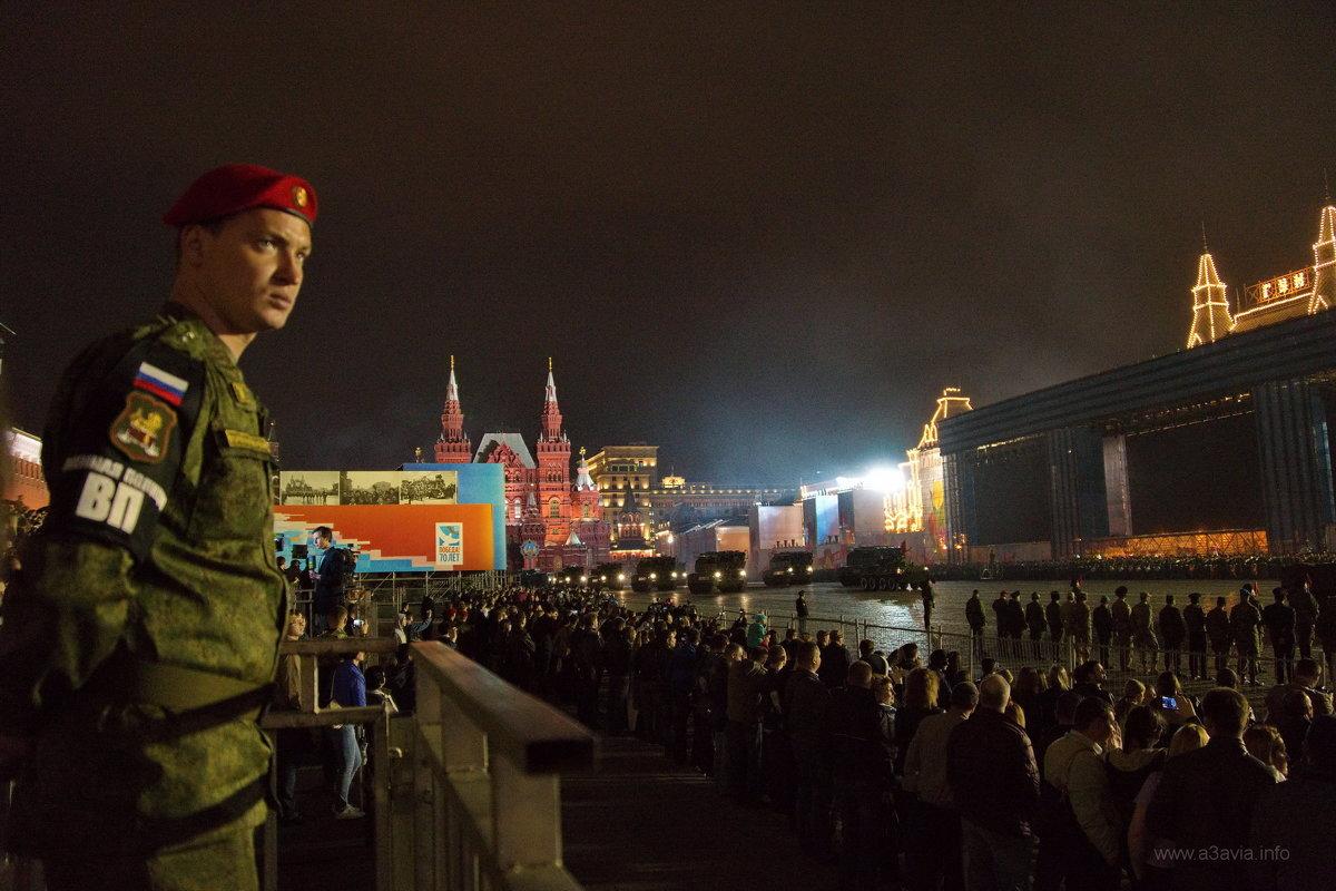Репетиция парада 2015 - Дмитрий Бубер
