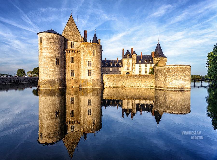 Замок Sully-sur-Loire, Франция - Вячеслав Лопатин
