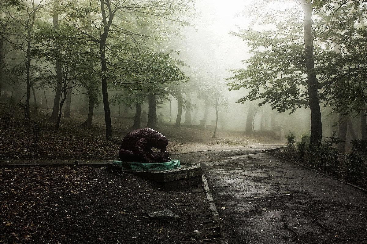 В парке - Леонид Сергиенко