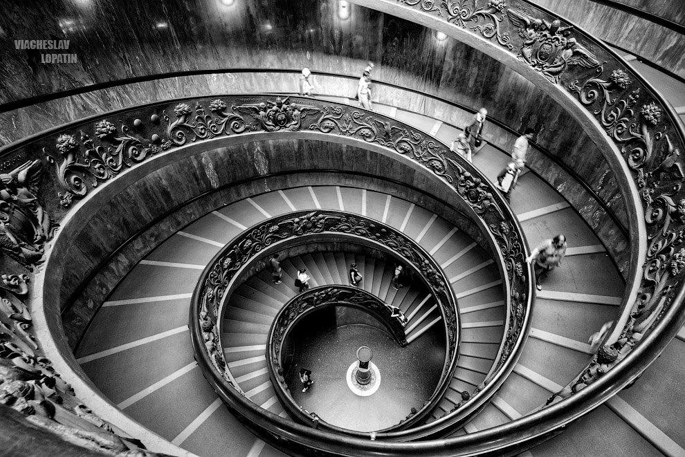 Спираль, музей Ватикана - Вячеслав Лопатин