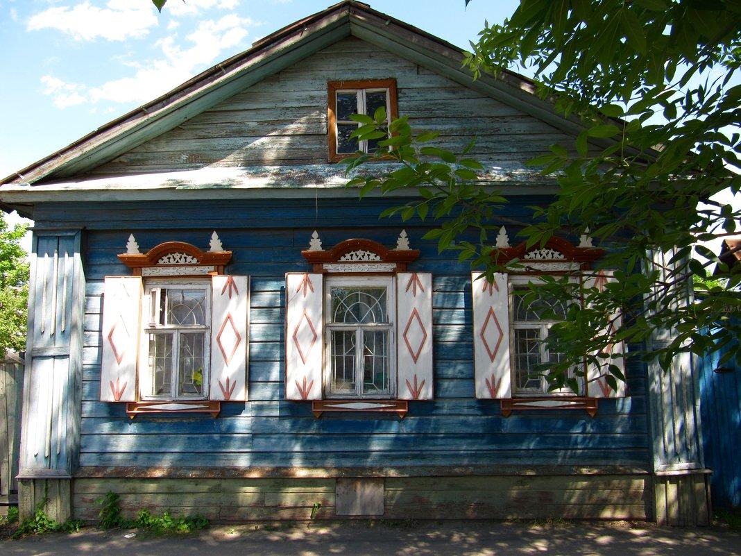 Фото деревенских домов снаружи