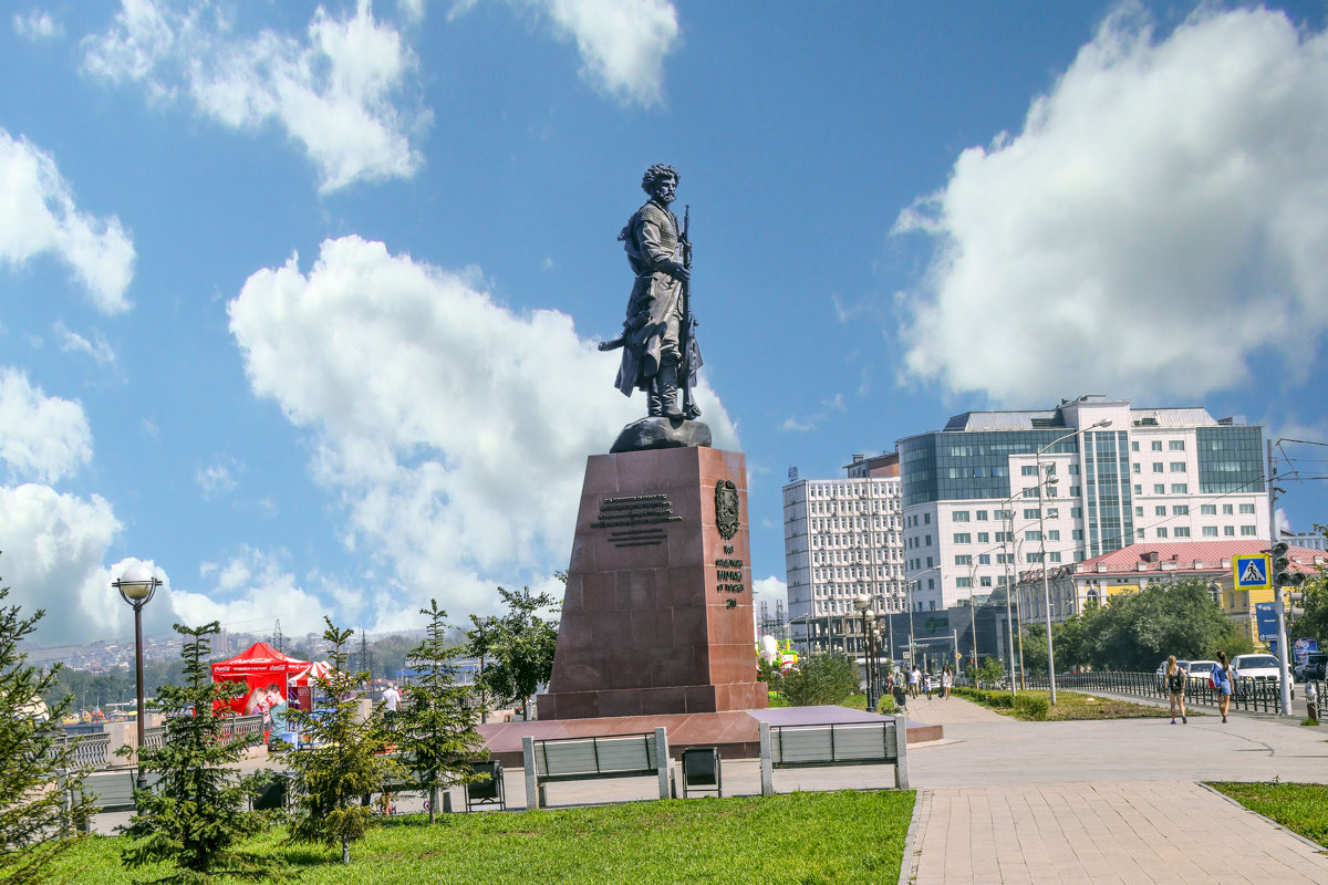 памятник основателям Иркутска-2 - vladimir Egoshin