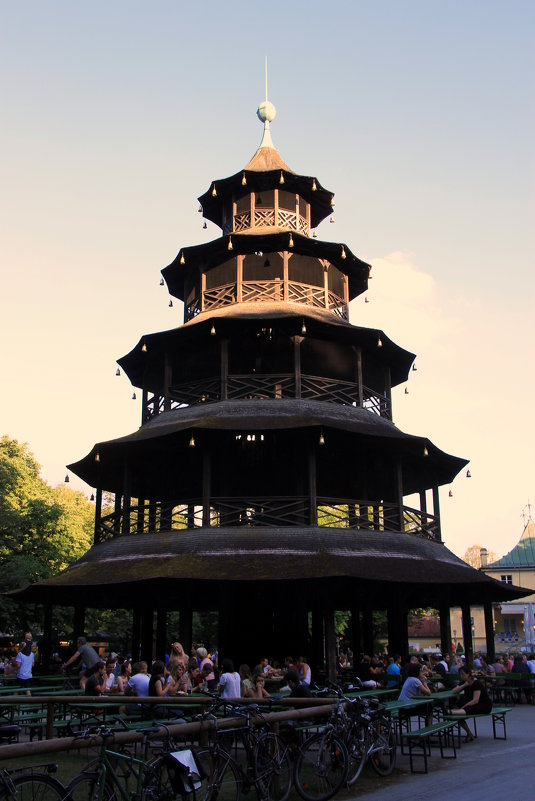 Chinesische Turm в Энглишгартене - Olga