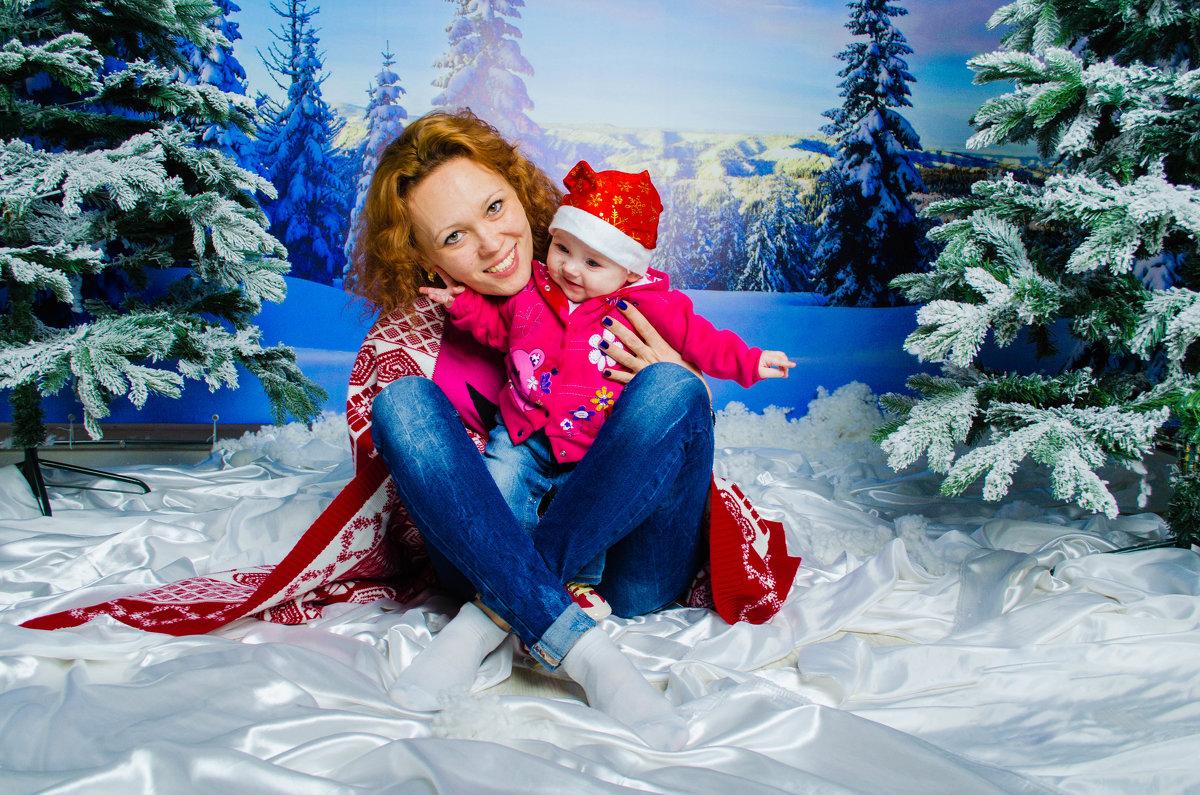 Лидия и маленькая Эвелина - Таня Ланская